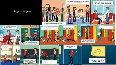 The winning comic entry