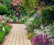 how to create cottage garden