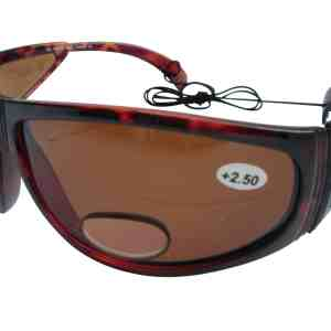 Darth Polarised Bifocal Fishing Sunglasses in Amber