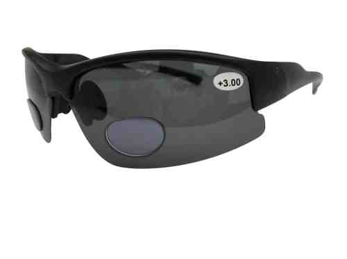 Lotus Polarised Bifocal Cycling Sunglasses in Black