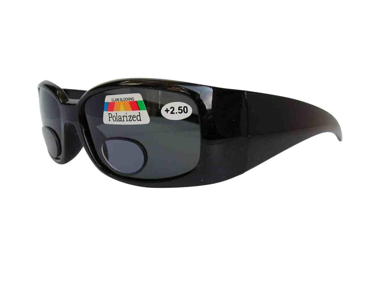 Africa Polarised Bifocal Sports Sunglasses in Black