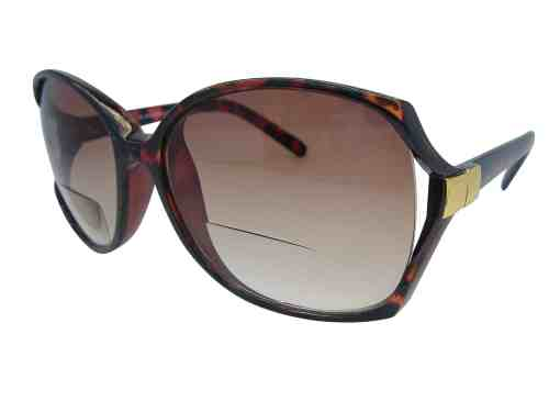 Cheri Butterfly Bifocal Sunglasses in Tortoiseshell