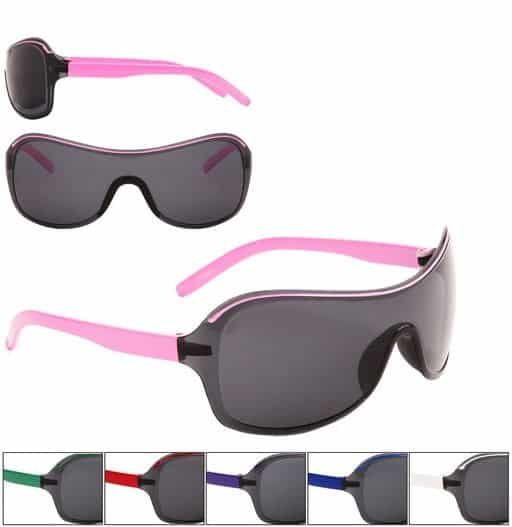 Childrens Sports Wrap Around Sunglasses