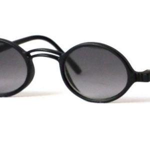 Geek Keyhole Bifocal Sunglasses in Black