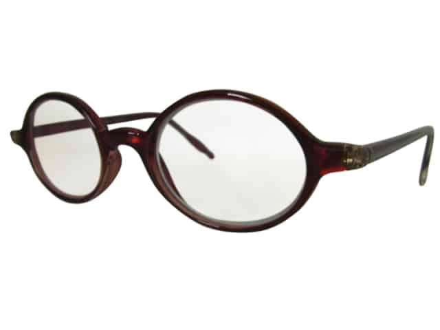Venice Reading Glasses in Ruby