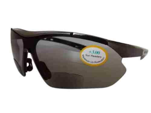 Swift Running Bifocal Sunglasses in Black