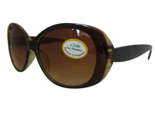 Carolina Bifocal Sunglasses in Tan