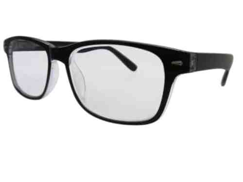 Arizona Wayfarer Bifocal Reading Glasses in Black