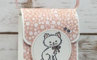 FB Live Pretty Kitty Purse