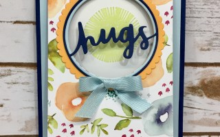 Lovely Inside & Out – Flap Over Fun Fold Card