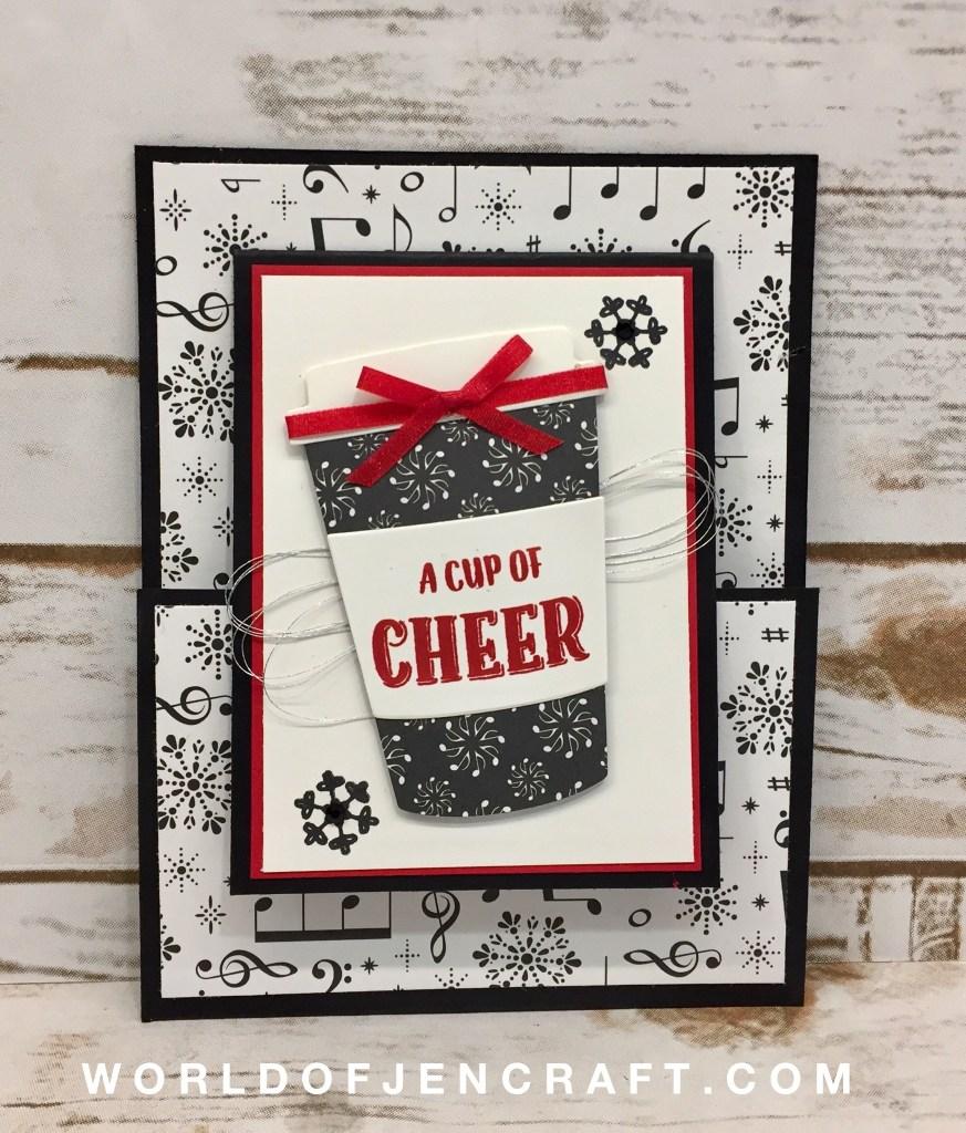 Merry Cafe – Joy Fold Card
