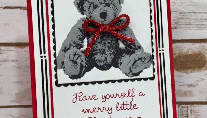 Baby Bear Merry Little Christmas