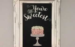 Chalk Couture – You're the Sweetest