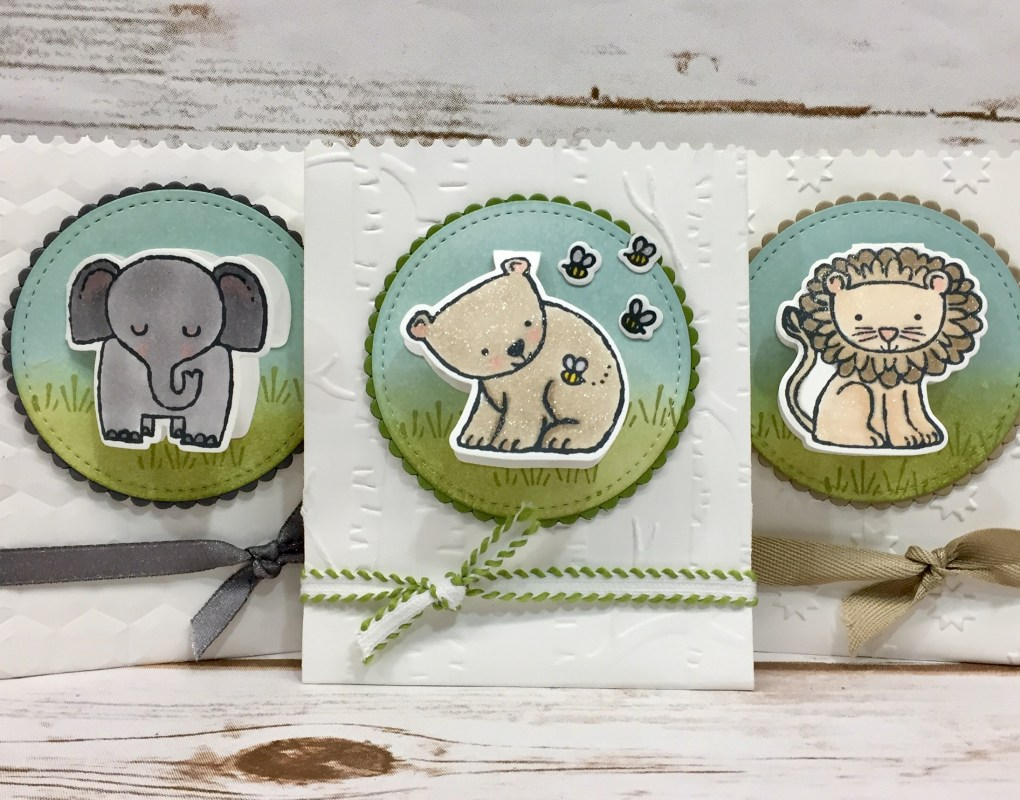 Stampin' Up! – A Little Wild Envelope Treat Pouch