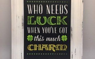 Chalk Couture – Who Needs Luck?