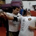 Kompromisslose Selbstverteidigung und Gegenangriff. Offene Lektion Sifu Alvaro Nascimento