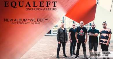 """WOM Streams – Equaleft shares second single """"Once Upon a Failure"""" from upcoming album """"We Defy"""""""