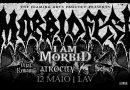 WOM Supports – 12/05/19 – Morbid Fest – I Am Morbid, Atrocity, Vital Remains, Sadist, Arcanus – Lisboa Ao Vivo, Lisboa