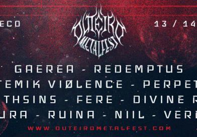 Outeiro Metal Fest 2019: Redemptus e Divine Ruin completam cartaz