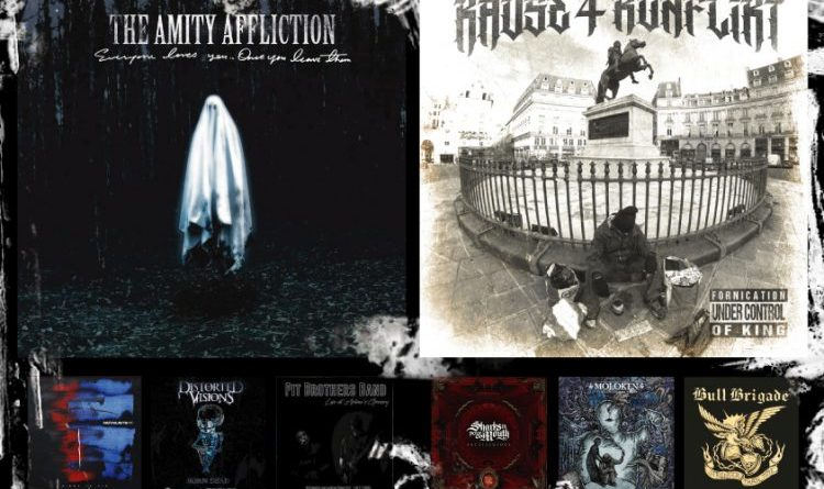 WOM Reviews – The Amity Affliction / Kause 4 Konflikt / Novelists Fr / Sharks In Your Mouth / Distorted Visions / Moloken / Shellz / Bull Brigade