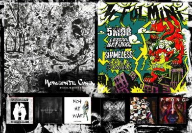 WOM Reviews – Horizonte Cinza / 5MDR / Loscos Brigade / Shameless / Zona Dombra / Fucked & Bound / Haunted Horses / Yonder / Suspyria / Inherit The Stars / Continoom / Prong