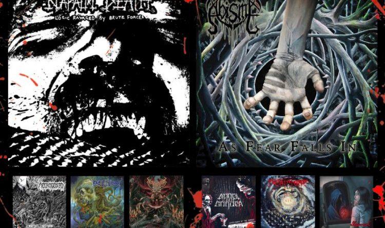 WOM Reviews – Napalm Death / Abisme / Necrogosto / Angel Grinder / Defiled / DeathTune / NecroticGoreBeast / Sleepwraith