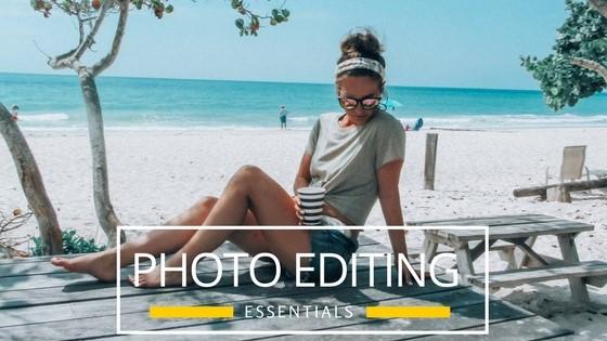 How I edit my photos
