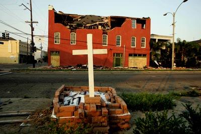 New Orleans hurricane memorial