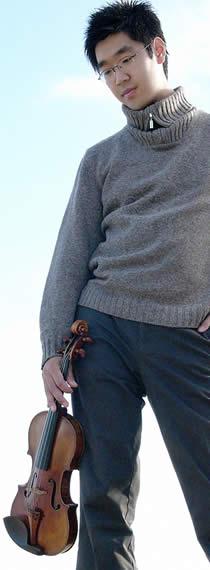 Violinist/Artistic Director Soovin Kim
