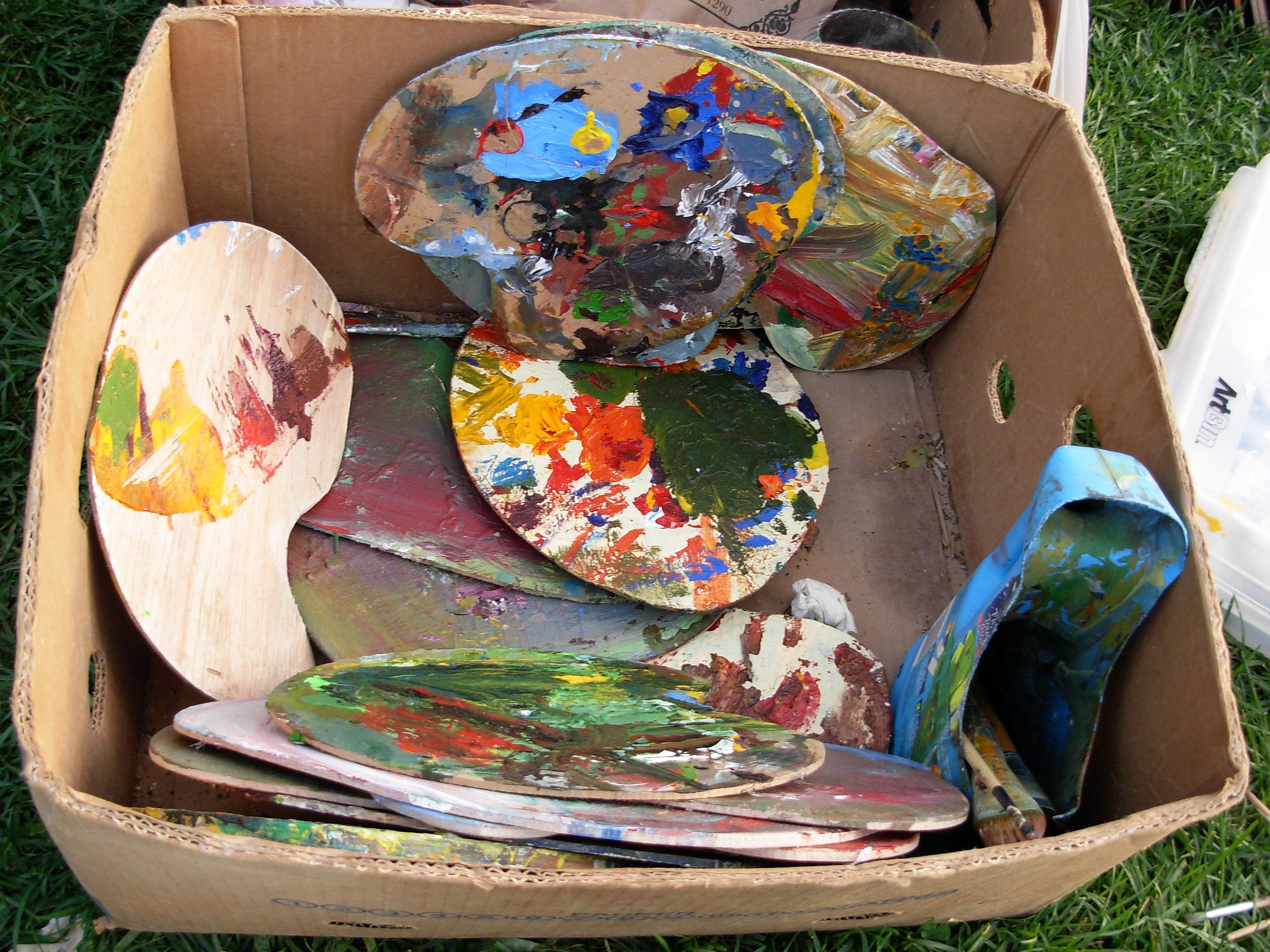 """Face the Canvas"" - palettes"