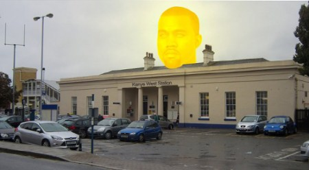Kanye-train-station