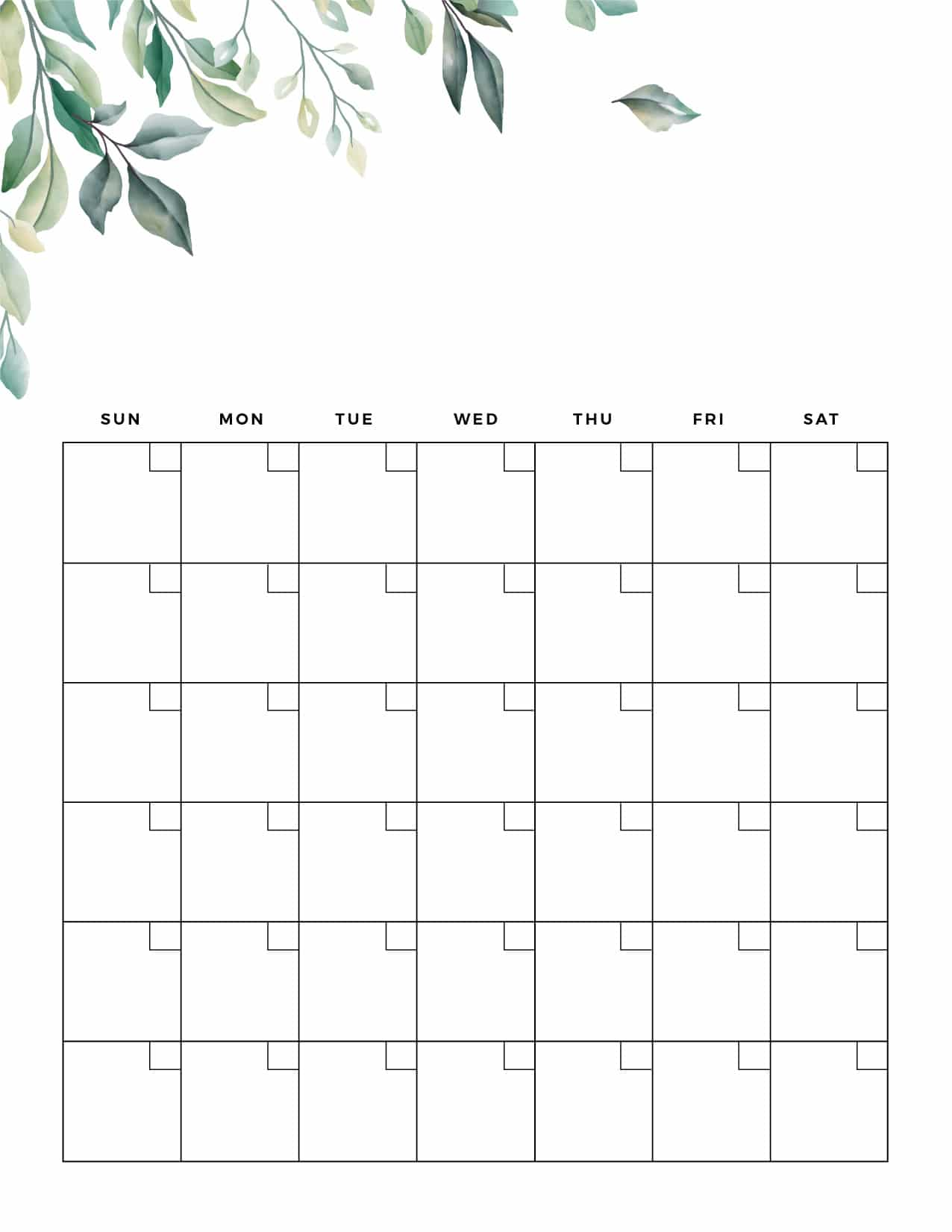 For busy families, calendars serve a much gr. Printable Blank Calendar Templates World Of Printables