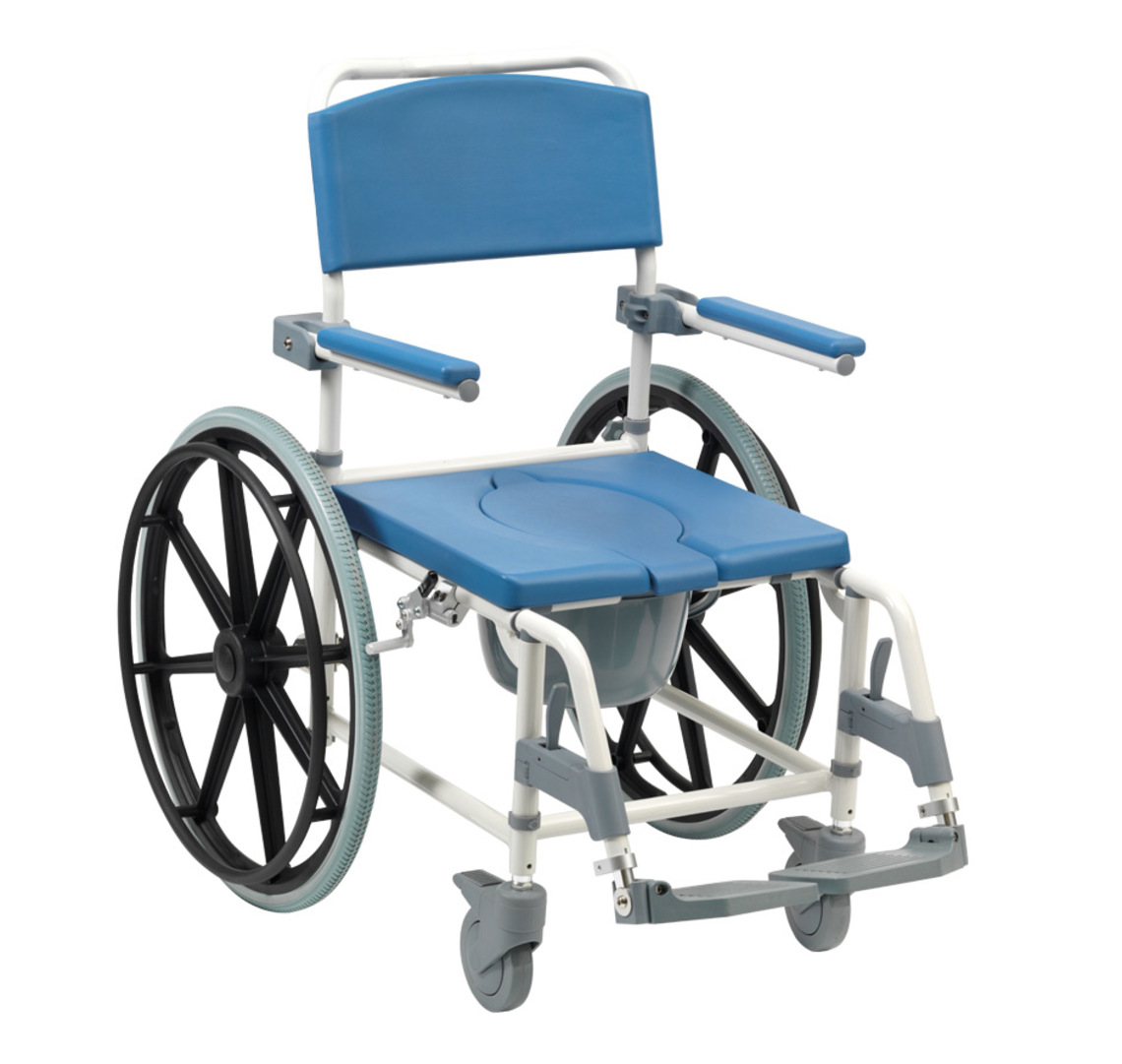 Shower Commode Chair Aston Commode Mobile Shower Chair World Of Scooters