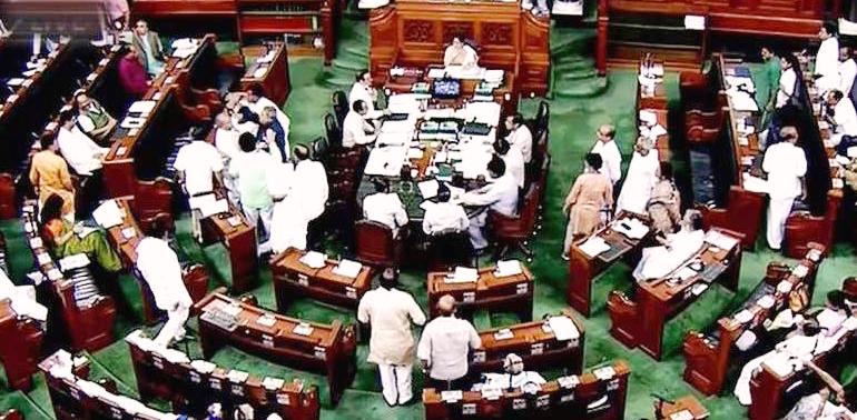 Citizenship Amendment Bill: Congress,NCP,BSP protest, JDU,BJD support