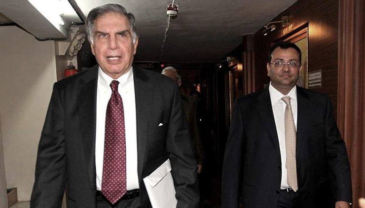 Electoral funding Tata and Mistry of 10 crs: 5 years ago there was dispute