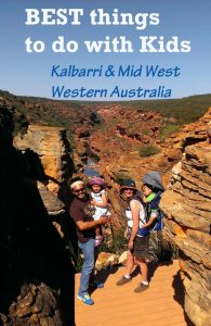 kalbarri with kids, kalbarri for kids