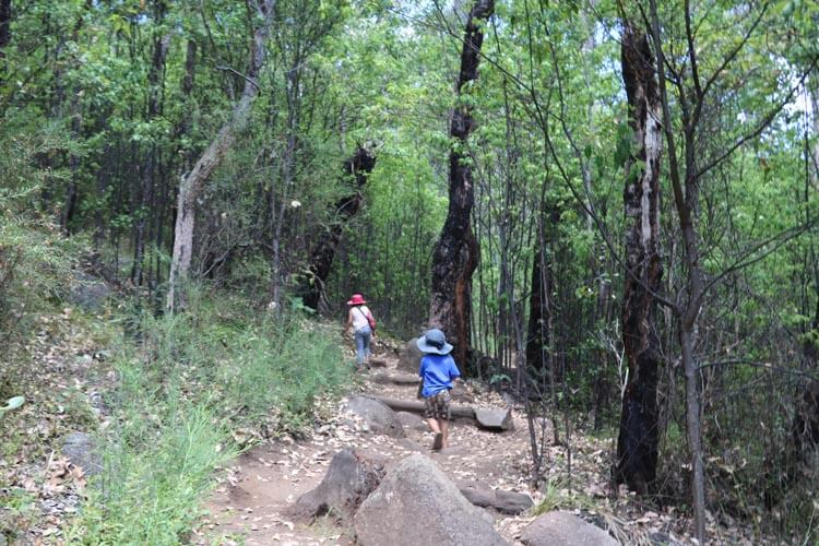 Hike To Granite Skywalk With Kids