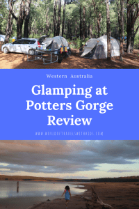 Glamping at Potters Gorge Review