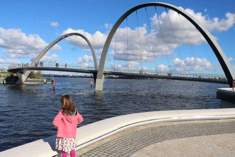 Enjoying Elizabeth Quay