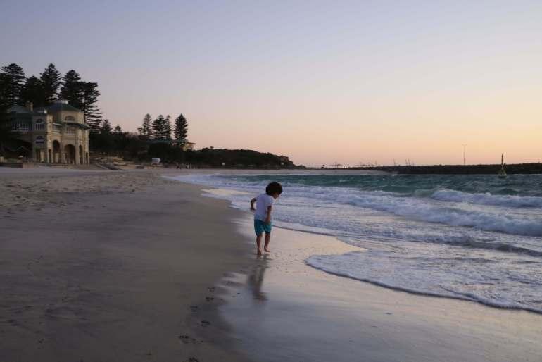 Iconic Cottlesloe Beach, Perth Western Australia