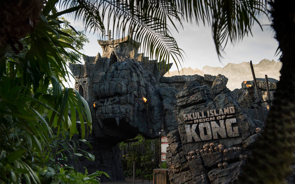 Skull Island: Reign of Kong Ride Review   World of Universal