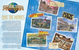 General overview of the themed sections of Universal Dubai