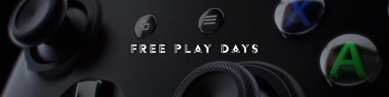 Trzy tytuły w ramach Free Play Days