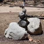 Rock tower in a park12
