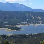 Big Bear Lake from a trail12
