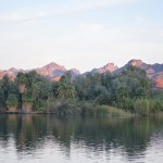 Early morning view at the Colorado River12
