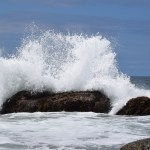 Wave explodes on the rocks12