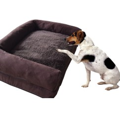 Soft Sofa Dog Bed West Elm York Leather Plush Suede Pet Warm Cushion House Kennel Comfortable To Use