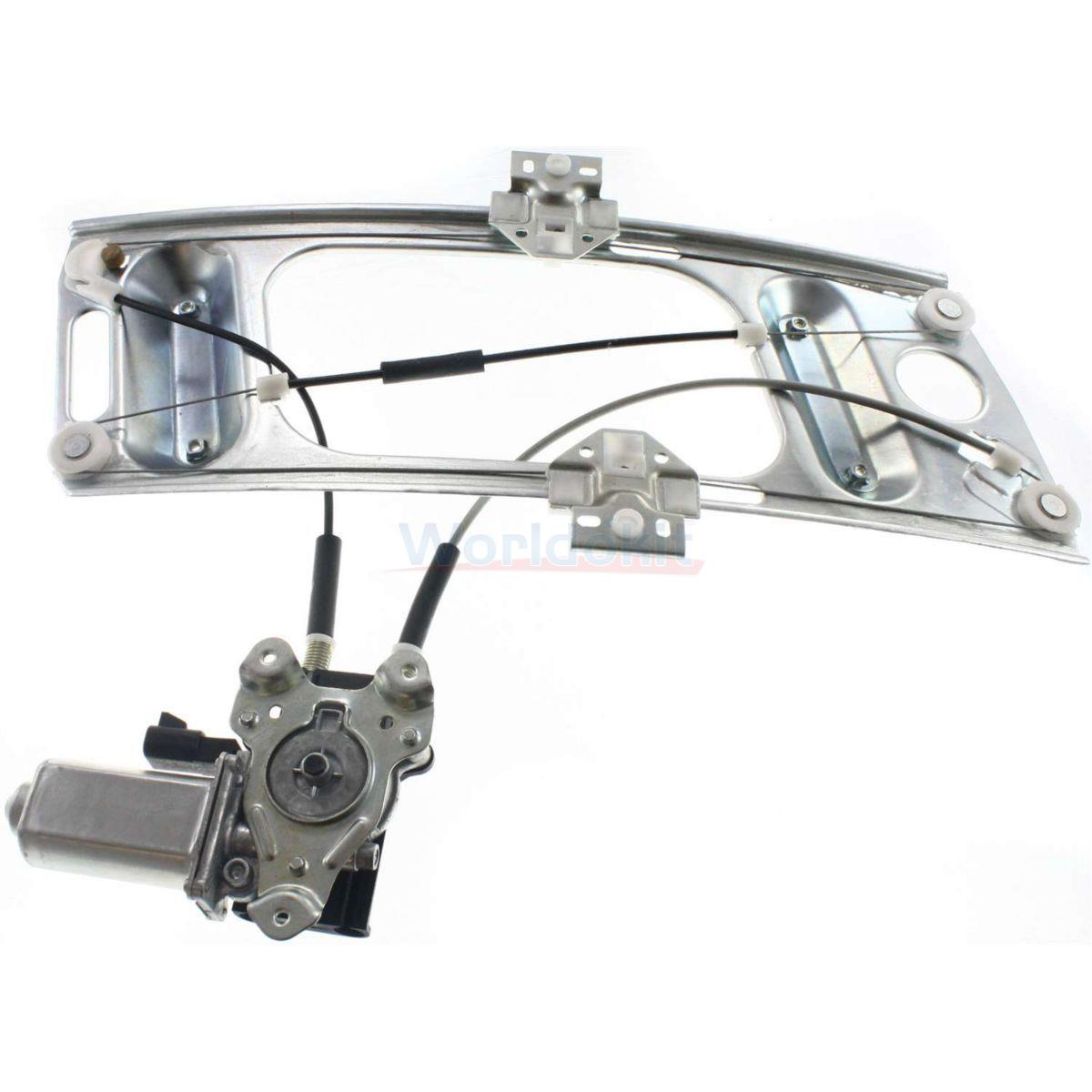 Power Window Regulator With Motor Front Driver Side For