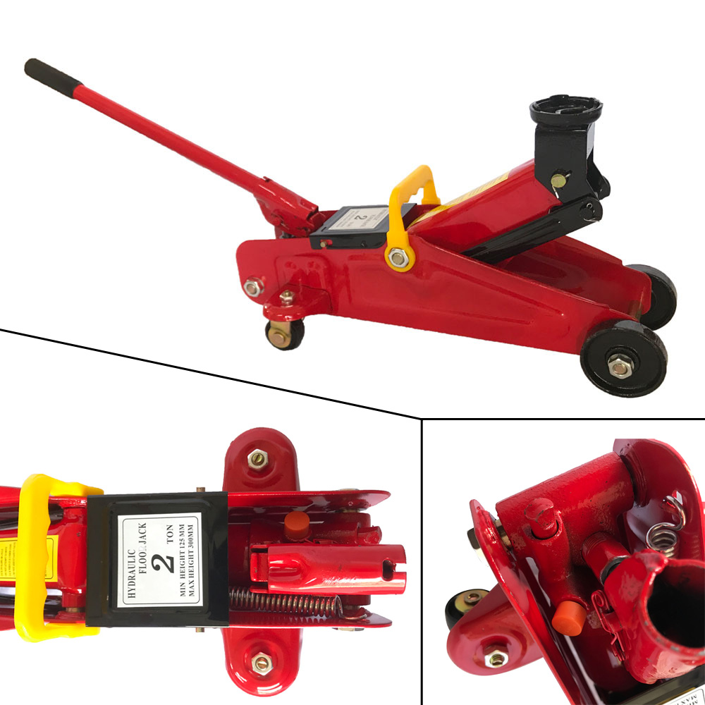 Hydraulic Floor Jack Low Profile Car Auto Vehilce 2 Ton Lift Heavy Duty Steel  eBay